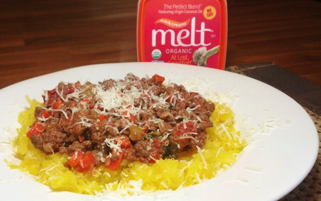 Bolognese Meat Sauce with Spaghetti Squash