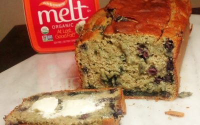 Gluten-Free Banana Blueberry Loaf