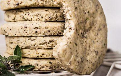 Vegan Savory Shortbread