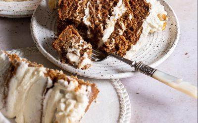 Gluten-Free Vegan Carrot Cake