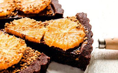 Orange Chocolate Tart