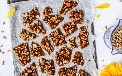 Nut and Sunflower Seed Brittle