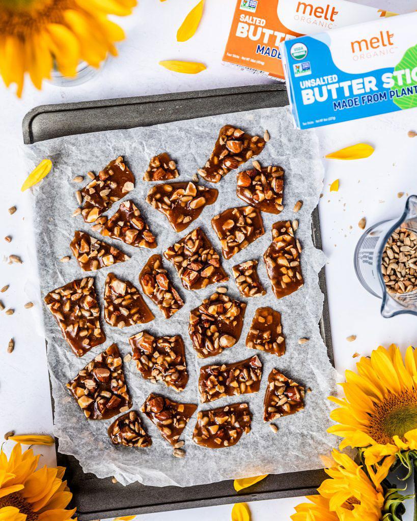 Melt Organic Nut and Sunflower Brittle Recipe
