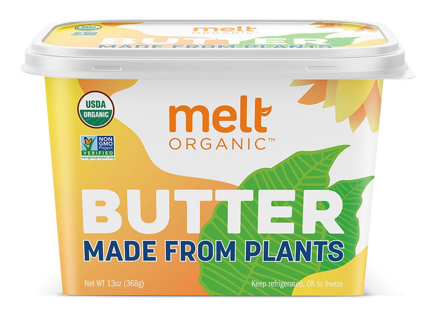 Melt Organic Plant-Based Butter Spread Tub