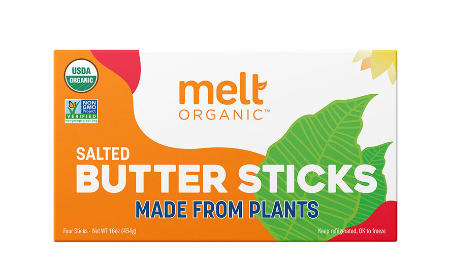 Melt Organic Plant-Based Butter Sticks Salted