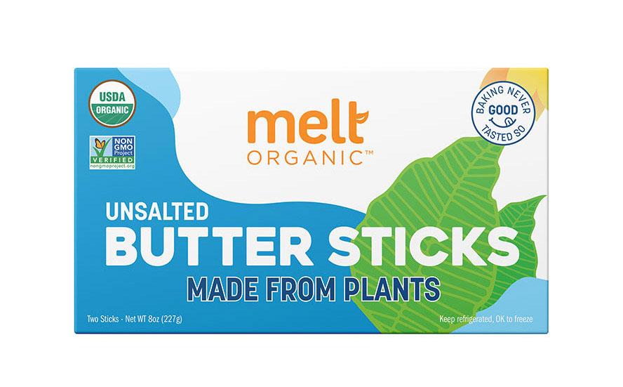 Melt Organic Plant-Based Butter Sticks Unsalted