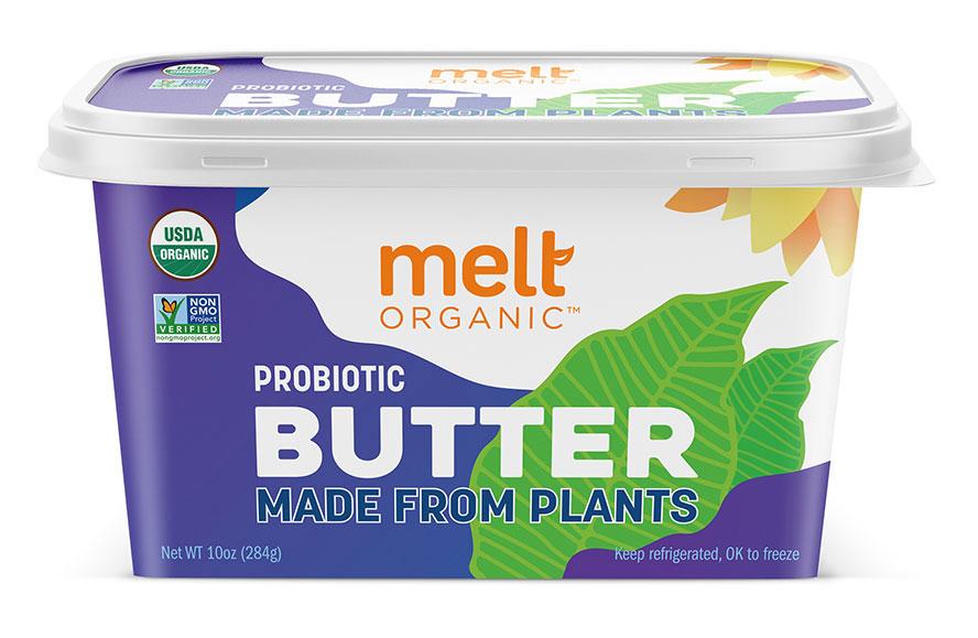 Melt Organic Probiotic Plant Based Butter Tub